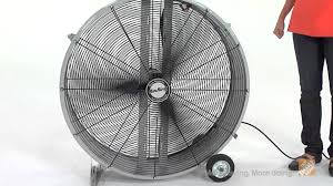 large floor fan industrial air king 36 inch direct drive drum fan the home depot youtube