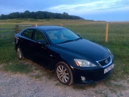 lexus is blue attention cheap car lexus is 220d 2007 reduced in