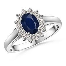 natural sapphire rings images Princess diana inspired natural blue sapphire ring jpg