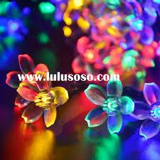 Solar Lantern String Lights by Solar Christmas Lights Outdoor Christmas Lights Decoration