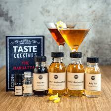 manhattan drink bottle father u0027s day cocktail kits taste cocktails