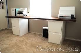 Diy File Cabinet Best Desk With Cabinets Diy File Cabinet Desk Storage Ideas