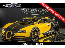 yellow bugatti 2008 bugatti veyron for sale classiccars com cc 1040506