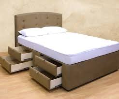 tall bed frame with drawers full size frames king flashbuzz info
