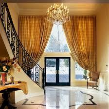 Entry Foyer by Traditional Window Treatments Window Works