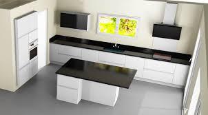 plans cuisines cuisine 3m lineaire obi cuisine complete l 3m laqu gris welches b