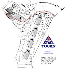 star tours floor plan this is the disneyland ground plan i