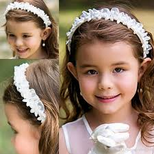 flower bands flower girl headbands toddler flowers hair accessories