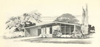 mid century modern house plan mid century modern ranch style house plans free home cost per square