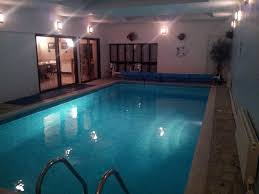 Indoor Pool E4036 Thatched Cottage With Private Indoor Pool Set In 8082636