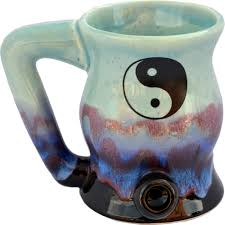 and bake mug yin and yang bake and mug always azul pottery