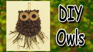 owl decor diy owl decoration a gift idea youtube