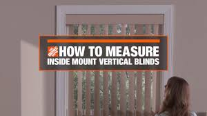 how to measure for inside mount vertical window blinds decor