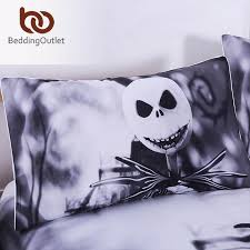 beddingoutlet black and white bedding set nightmare before