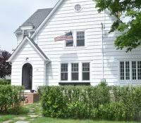 blue house white trim red door home decor navy with exterior paint