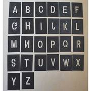 china painting stencil alphabet letters and numbers from shenzhen