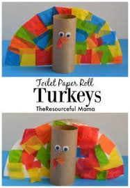 toilet paper roll turkey kid craft thanksgiving turkey toilet