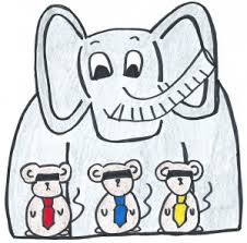 The Blind Mice Three Blind Mice And The Elephant In The Room Why Austerity