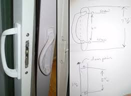 Patio Door Handle Replacement Patio Door Replacement Handle Swisco