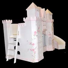 Castle Bunk Beds For Girls by Bunk Beds With Slides For Children Bunk Bed