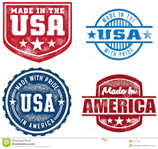 vintage style made in usa sts stock vector image 21157200