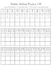 free printable kindergarten number worksheets activity shelter