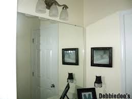 builder grade how to add molding around your bathroom builder grade mirrors