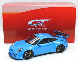 porsche ruf gt spirit gt113 porsche ruf rtr 2015 blue 1 18 scale resin car