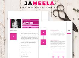 creative resume word template 50 eye catching cv templates for ms word free to download