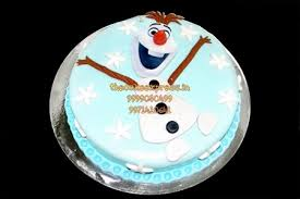 olaf theme frozen cake noida online kids cake delivery noida all