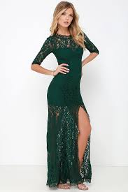 green dress gorgeous green dress lace dress half sleeve dress maxi