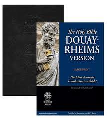 catholic store online douay rheims bible black premium ultrasoft large print
