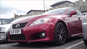 isf lexus red red lexus is f walkaround scenes pictures youtube