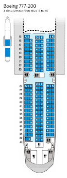 boeing 777 200 sieges traveller seat maps seating airways
