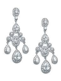 Cubic Zirconia Chandelier Earrings Cubic Zirconia Chandelier Earrings Bridal Earrings Earrings