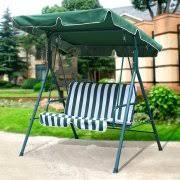 wicker patio swings