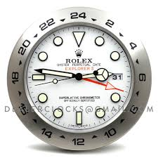 rolex explorer ii wall clock u2013 dealer clocks