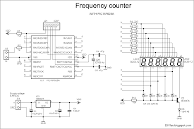 Simple Schematic Electric Cycle Counter Frequency Counter With Pic16f628a Electronics Lab