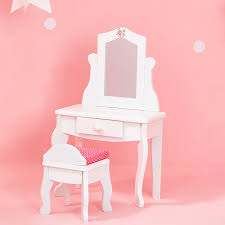 18 inch vanity stool amazon com olivia u0027s little world princess vanity table and