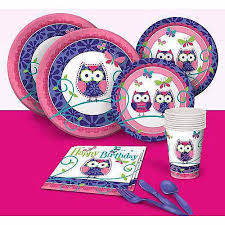 owl birthday party owl pal birthday party pack walmart