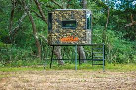 6x6 archery gun blind combo hercules fiberglass hunting blinds