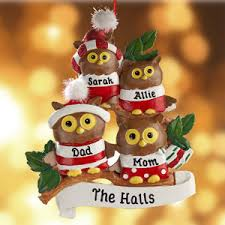 personalized owl family ornament 4 seriously how are these