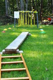 Backyard Obstacle Course Ideas Obstacle Course The Testoster Zone