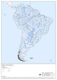 america map with rivers south america river map pointcard me
