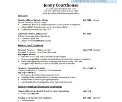 Australian Resume Templates Legal Resume Template Junior Lawyer Resume Pdf Free Download