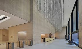 travertine walls 1133 avenue of the americas contract design
