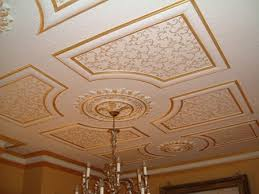 Decorative Ceilings Best Way To Fit A Decorative Ceiling Rose