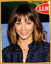 hairstyles for straight across bangs straight across bangs styles hairstyles pictures