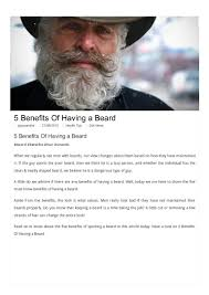 the importance of having acrylic nails 5 benefits of having a beard
