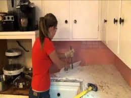 stephanie u0027s step by step kitchen remodel step 1 demo of old tile